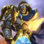 Harthstone Uther The Lightbringer (Паладин)