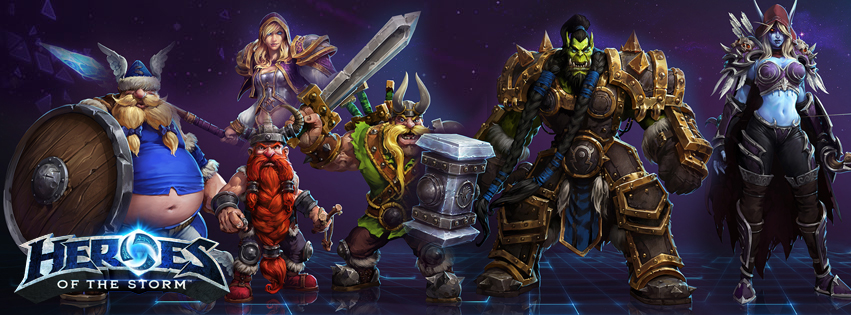 Heroes Of The Storm Герои