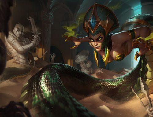 League of Legends — Гайд по герою Cassiopeia (Кассиопея)
