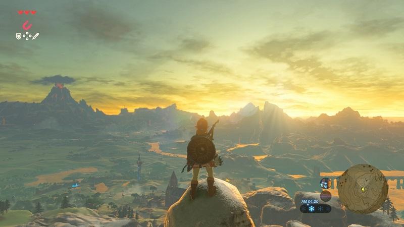 Обзор игры The Legend of Zelda: Breath of the Wild