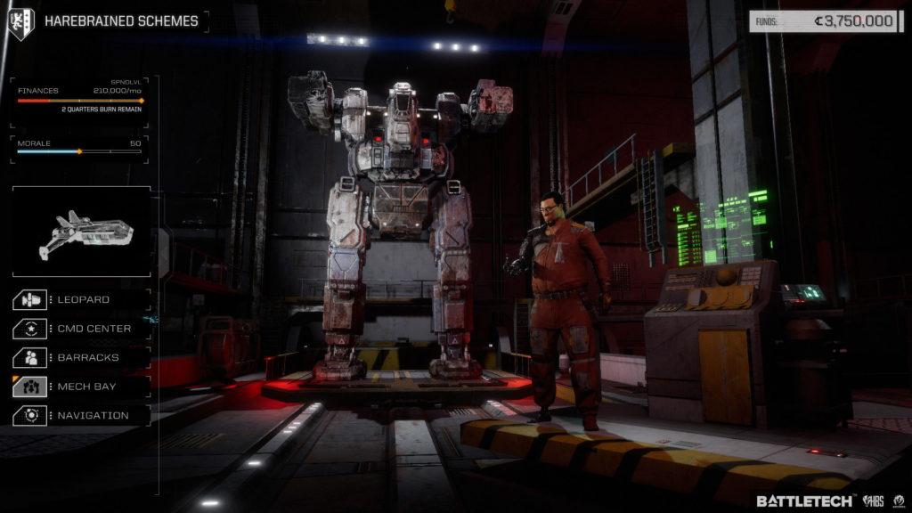 Обзор игры Battletech 2018