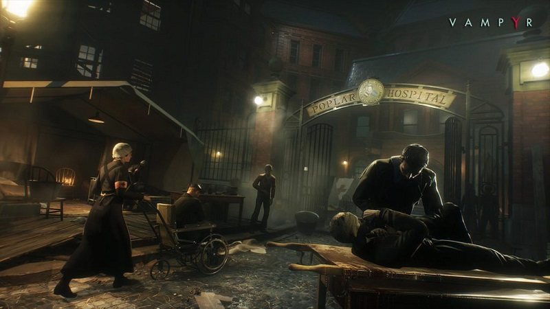 Обзор игры Vampyr: Darkness Within 2017