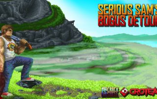Обзор инди экшена 2017 Serious Sam's Bogus Detour