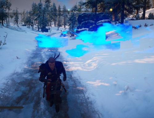 Assassins Creed Valhalla ошибки, баг с текстурами