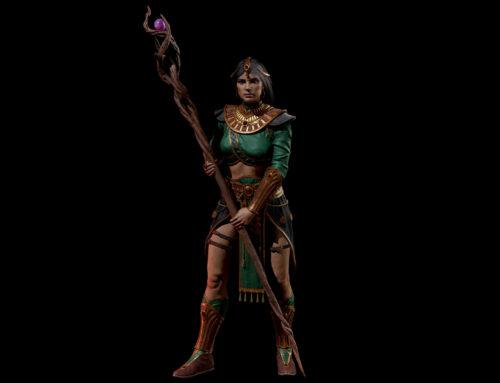 Лучшие Билды для Волшебницы в Diablo 2: Resurrected